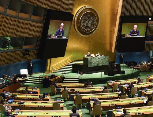 La Organización de las Naciones Unidas conmemoró su 75° aniversarioen una reunión desangelada, casi virtual y con una crisis sanitaria universal.