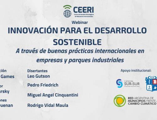 Webinar: Innovación para el Desarrollo Sostenible