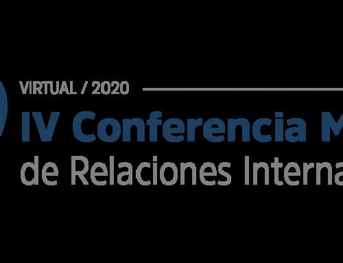 Archivo: Trabajos de investigación presentados en la IV Conferencia Mundial de Relaciones Internacionales