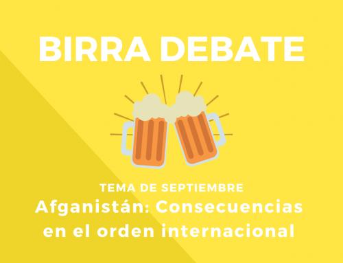 Birra Debate – Septiembre